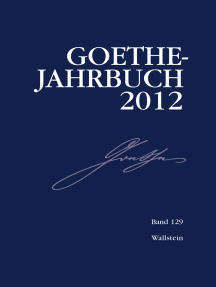 Goethe-Jahrbuch 129, 2012