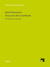 Discours de la Méthode: Im Anhang: Brief an Picot; Adrien Baillet: Olympica