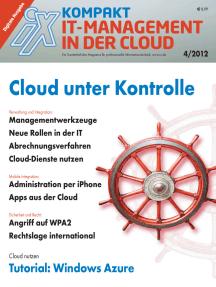 iX kompakt IT-Management in der Cloud: Cloud unter Kontrolle