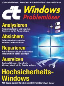 c't Windows (2018): Problemlöser