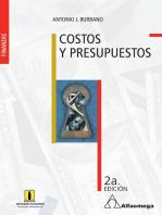 Costos y presupuestos: Segunda edición