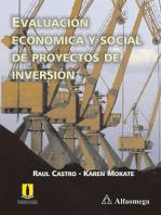 Evaluación económica y social de proyectos de inversión: Segunda edición