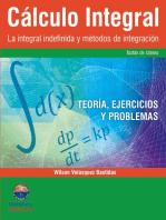 Cálculo Integral: La integral indefinida y métodos de integración