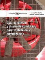 Guía de cálculo y diseño de conductos para ventilación y climatización