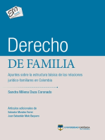 Derecho de familia: Apuntes sobre la estructura básica de las relaciones jurídico-familiares en Colombia