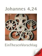 Johannes 4,24 EinThesenVorschlag