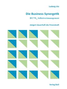 Die Business Synergetik BeComE® Selbstwertmanagement: steigert dauerhaft die Finanzkraft