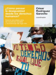 ¿Cómo pensar la desigualdad desde los derechos humanos?: Nuevos abordajes para las injusticias sociales y económicas del siglo XXI