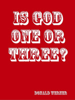 Is God One or Three?