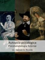 La autopsia psicológica