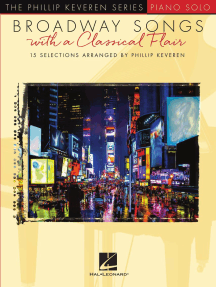 Broadway Songs with a Classical Flair: The Phillip Keveren Series Piano Solo