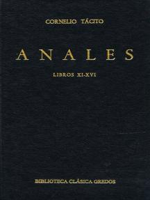 Anales. Libros XI-XVI