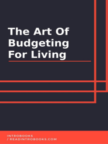 The Art of Budgeting for Living