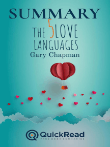 """Summary of """"The Five Love Languages"""" by Gary Chapman"""