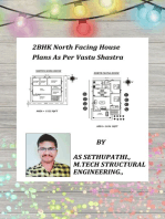 2BHK North Facing House Plans As Per Vastu Shastra