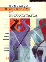 Contacto & Relación en Psicoterapia: Reflexiones sobre terapia Gestalt