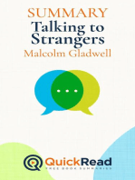 "Summary of ""Talking to Strangers"" by Malcolm Gladwell"