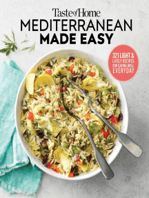 Taste of Home Mediterranean Made Easy: 325 light & lively dishes that bring color, flavor and flair to your table
