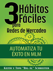 3 Hábitos Fáciles para Redes de Mercadeo: Automatiza Tu Éxito en MLM