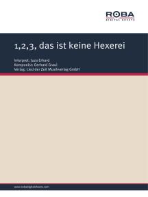 1,2,3, das ist keine Hexerei: as performed by Juza Erhard, Single Songbook