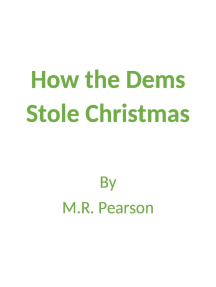 How the Dems Stole Christmas