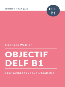 Objectif DELF B1