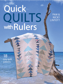 Quick Quilts with Rulers: 18 Easy Quilts Patterns
