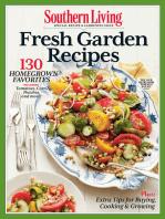 SOUTHERN LIVING Fresh Garden Recipes