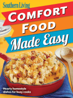 Southern Living Comfort Food Made Easy