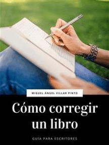 Cómo corregir un libro