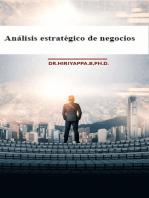 Análisis estratégico de negocios