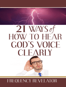 21 Ways of How to Hear God's Voice Clearly