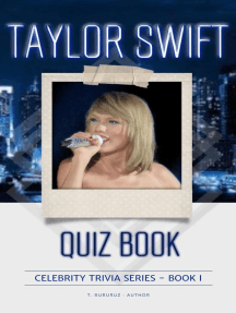 Taylor Swift Quiz Book: Celebrity Trivia Series, #1