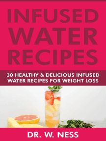 Infused Water Recipes: 30 Healthy & Delicious Infused Water Recipes for Weight Loss