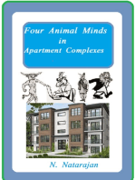 Four Animal Minds In Apartment Complex