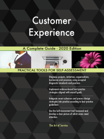 Customer Experience A Complete Guide - 2020 Edition