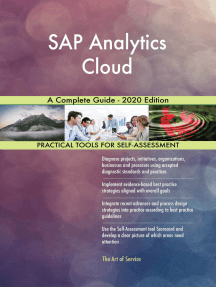 SAP Analytics Cloud A Complete Guide - 2020 Edition