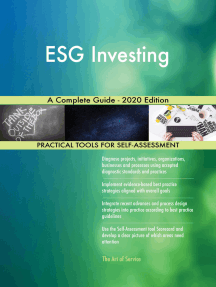 ESG Investing A Complete Guide - 2020 Edition