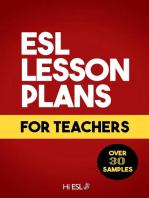 ESL Lesson Plans for Teachers