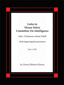Letter to House Select Committee on Intelligence