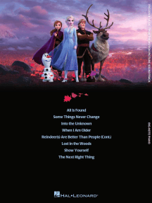 Frozen 2 Big-Note Piano Songbook: Music from the Motion Picture Soundtrack