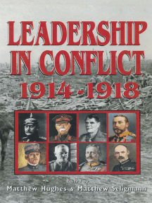 Leadership In Conflict 1914–1918