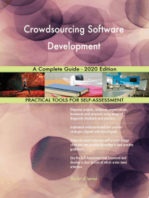 Crowdsourcing Software Development A Complete Guide - 2020 Edition