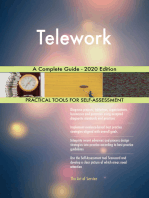 Telework A Complete Guide - 2020 Edition