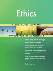 Ethics A Complete Guide - 2020 Edition