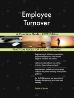 Employee Turnover A Complete Guide - 2020 Edition