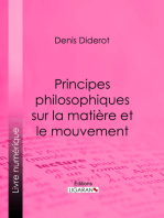 Principes philosophiques sur la matière et le mouvement