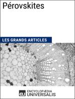 Pérovskites: Les Grands Articles d'Universalis