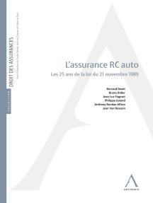 L'assurance R.C. auto: Les 25 ans de la loi du 21 novembre 1989