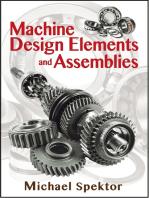 Machine Design Elements and Assemblies
